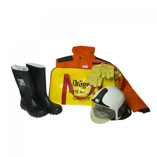 DRAEGER Firemans outfit Orange complete