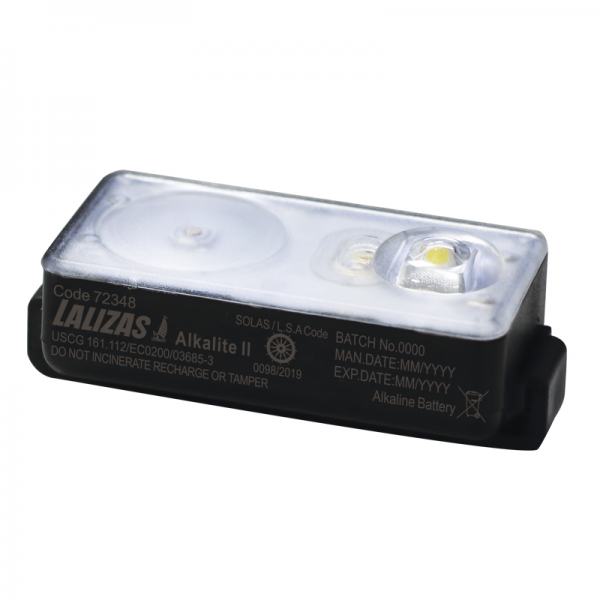 "LALIZAS Lifejacket LED flashing light ""Alkalite II"""