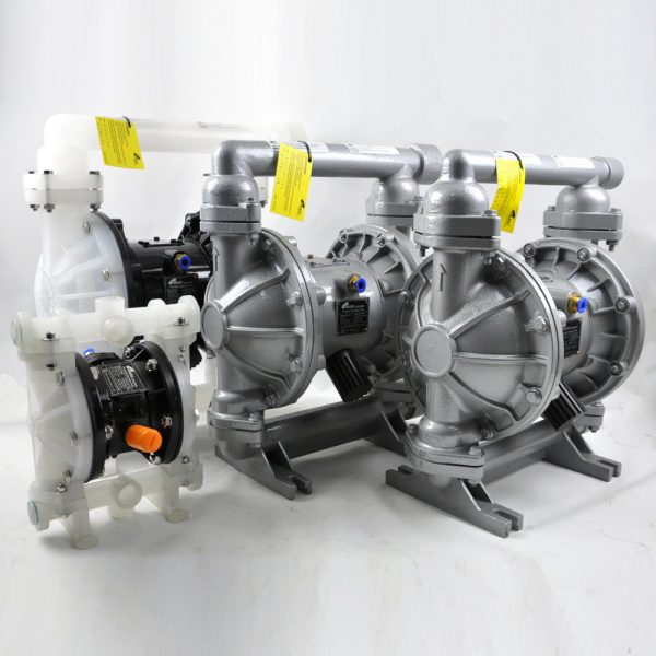 """Stroke """"1"""" Bolted Diaphragm Pump (PP/PTFE)"""