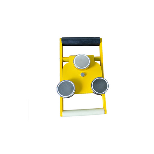 232093 232094 232095 Yellow magnet for holding of pilot ladder w/ belt in aluminum case, 600kgs, 4 magnets