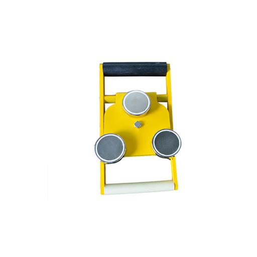 232093 232094 232095 Yellow magnet for holding of pilot ladder w/ belt in aluminum case, 600kgs, 4 magnets