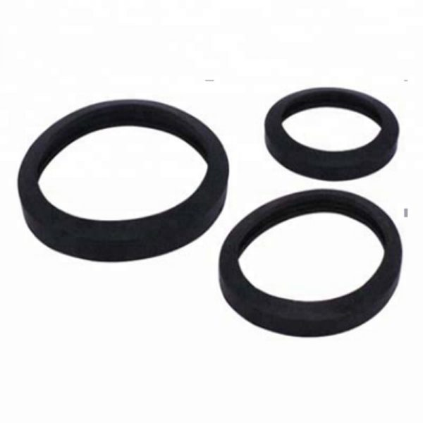 Rubber packing for hose coupling