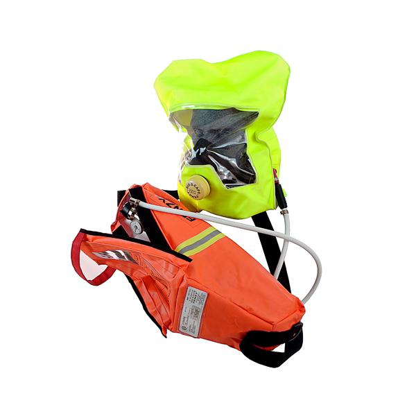 Emergency escape breathing apparatus/device, EEBA/EEBD, TH15G, CCS