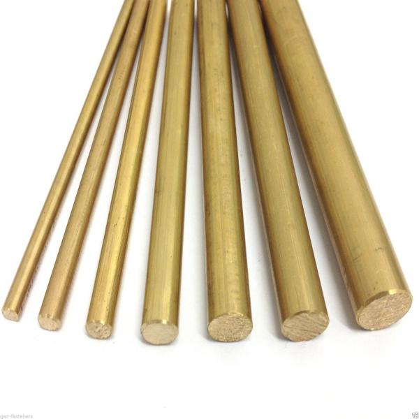 Brass round & hexagonal bars