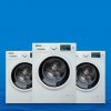 Front loading washing machines 9kg 110v 60 hz & 220v 50-60hz